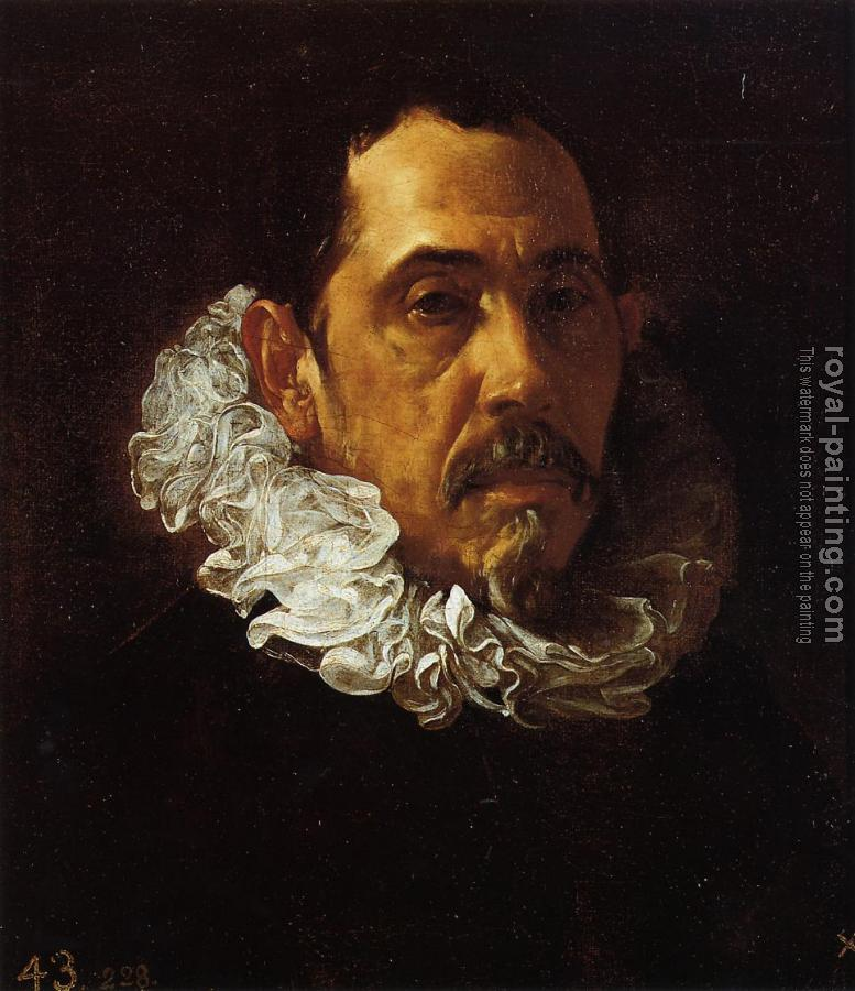 Portrait of a Man with a Goatee